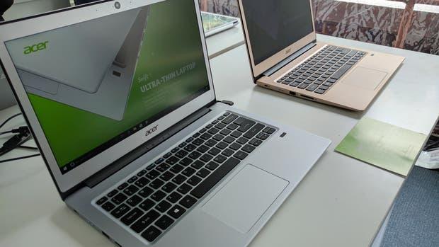 Acer renovó su oferta de portátiles para este año
