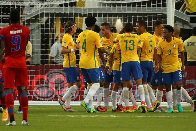 Brasil se disfrazó de Alemania y ganó 7-1
