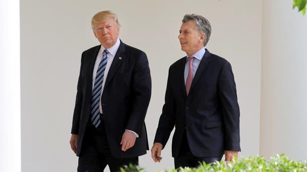 Michetti compartió una cena con Trump para hablar sobre Venezuela