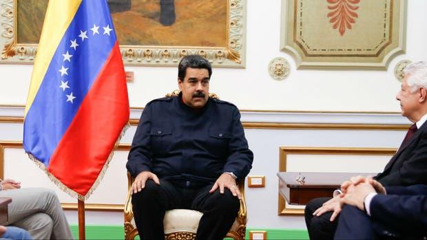 Maduro en reunión de gabinete