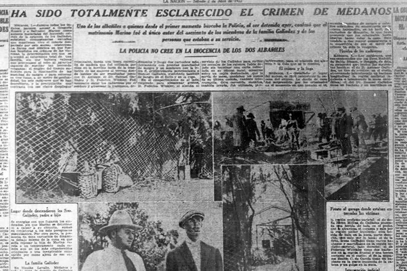 Los criminales mantuvieron en vilo a la Argentina durante una semana