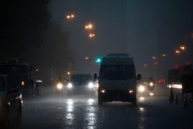 Las tormentas, que variarán de intensidad, durarán al menos hasta el martes
