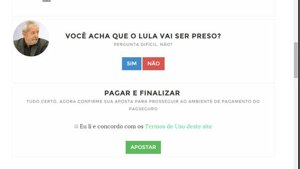 La polémica página de Internet sobre la situación judicial de Lula