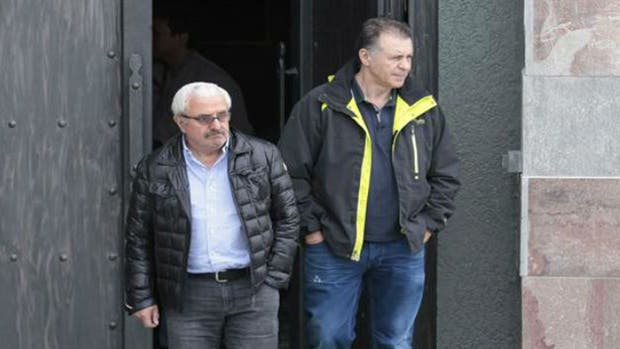 El ex socio de la familia Kirchner, Osvaldo Sanfelice (izquierda) y el empresario K Cristóbal López (derecha)