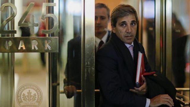 Luis Caputo mantuvo intensas reuniones para tratar de llegar a un acuerdo