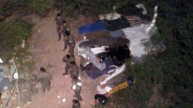 El accidente se produjo en la ruta nacional 34 a la altura de Rosario de la Frontera