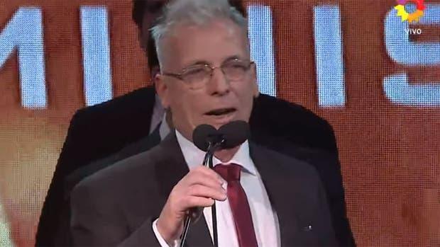 Gerardo Romano hizo campaña por Cristina Kirchner