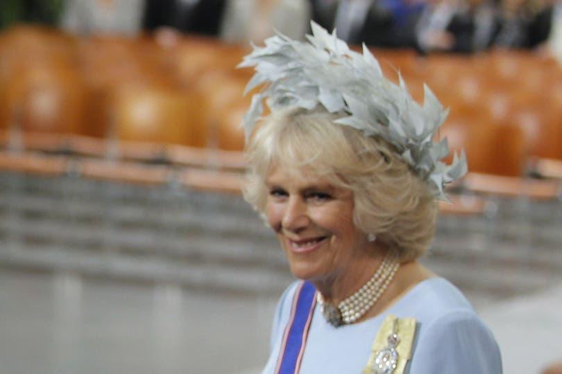 La duquesa de Cornwall, Camila. Foto: AFP