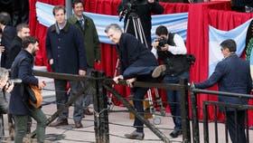 Macri en la inauguración de la Rural de Palermo