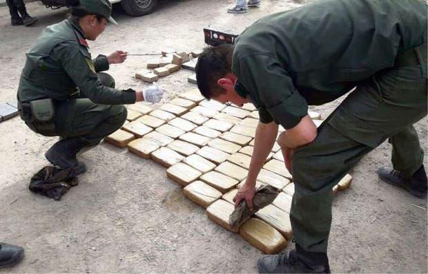 Detectaron un embarque de droga en la localidad cordobesa de Lucio V. Mansilla