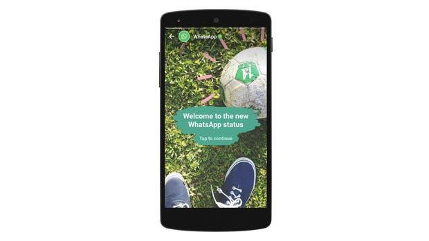 La función de actualización de estado de WhatsApp ahora funcionará con contenido efímero al estilo Stories de Facebook e Instagram