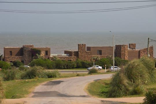 En Punta Piedras, la casa de Eduardo Costantini. Foto: Alejandro Di Ciocchis