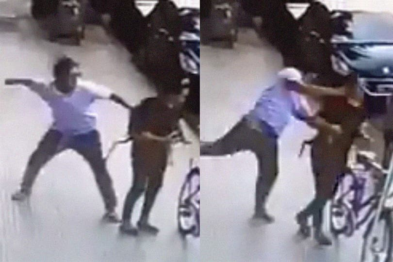 La mujer reveló que se enteró que había sido golpeada al día siguiente del hecho