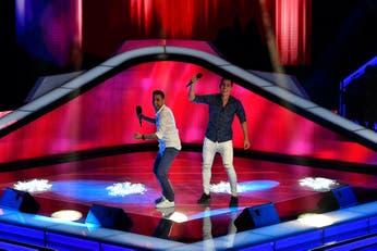 La Voz Argentina: con un clásico de Leo Dan, un dúo salteño alegró la competencia