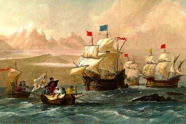 Desembarco de Magallanes