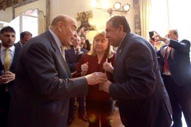 Cavallo, Malcorra y Puerta conversaron en la celebración del Día de la Revolución de Mayo en Madrid
