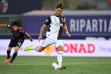 Sexto puesto para Cristiano Ronaldo: el portugués es, junto a Messi, el único en actividad entre los que superaron los 700 tantos