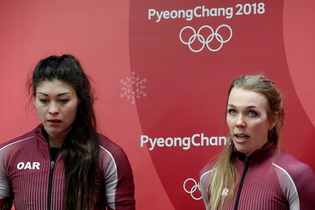 Uso playera de 'Yo no me dopo'....dio positivo en Pyeongchang