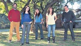 Mariano Sigman, María Soledad Segretin, Andrea Goldin, María Julia Hermida y Sebastián Lipina