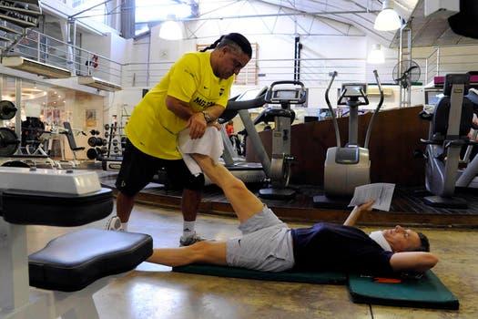 Después de los ejercicios, la elongación. Foto: lanacion.com / Gentileza Prensa Pro