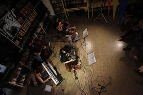 Quinteto Negro La Boca, en la primera noche del festival