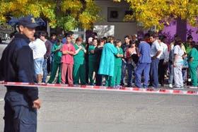 El personal de la clínica fue evacuado durante el episodio