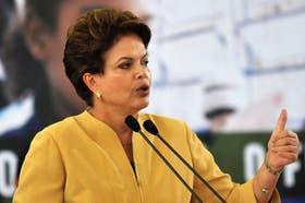 Dilma Rousseff recordó que dos años atrás, el gobierno puso en marcha una operación policial coordinada con los países vecinos para intensificar la vigilancia fronteriza