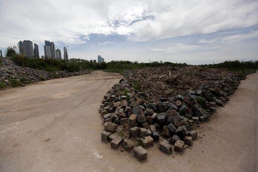 Sacaron 42 millones de adoquines y nadie sabe dónde están. Foto: LA NACION / Silvana Colombo
