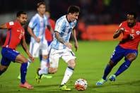 Los puntajes de la victoria de la selección argentina ante Chile con Lionel Messi como figura