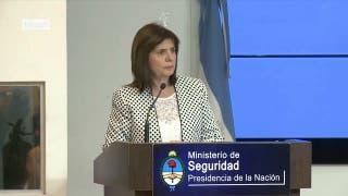 Ministra Bullrich dijo que durante el kirchnerismo aumentaron los hechos delictivos en todo el país