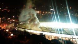 Veinte personas resultaron heridas por la explosión