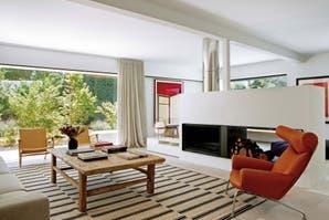 Una casa decorada en sintonía con su entorno