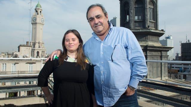 Mariana Casabella junto a Marcelo Iambrich, Director General de Promoción Cultural del Ministerio de Cultura de la Ciudad de Buenos Aires fue quien decidió su incorporación