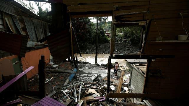 El paso del huracán Nate