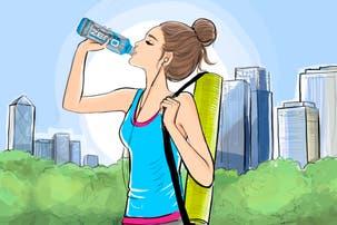 ¿Cómo tenemos que hidratarnos cuando practicamos ejercicios de bajo impacto?