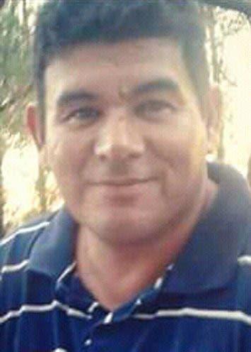 Juan Garcilazo, obrero de la construcción: Tenía 44 años y estaba junto con el dirigente Julio Galván, que acompaña en La Plata al interventor Carlos Vergara