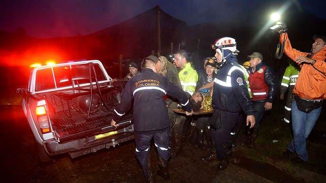 Así rescataban a los sobrevivientes de la tragedia