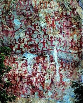 Zuojiang Huashan Rock Art Cultural Landscape. La Unesco estudia incluir en su inventario algunos bienes cultural del mundo. Foto: Sitio oficial de la Unesco