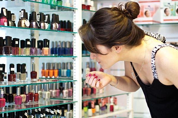 Los productos que venden en los spas no son fáciles de conseguir en otros negocios minoristas. Foto: Florencia Cosin