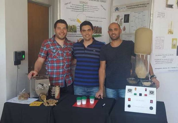 Renato Gili, Pablo Ribotta y Pablo Palavecino, impulsores del proyecto