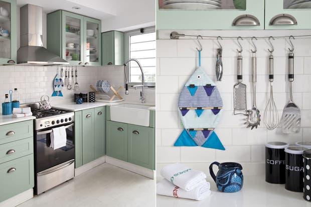 Seis estilos originales para tu cocina periodico movil - Alicatar cocina detras muebles ...
