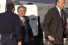 Daniel Muñoz, cuando era secretario de Néstor Kirchner