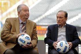 Con Julio Grondona: formaron una sociedad histórica en el fútbol sudamericana. A los dos los alcanzó la investigación sobre el Fifagate