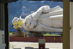 Hoy, el monumento está destruido