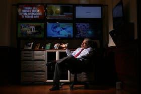 Fernández en su despacho del Congreso