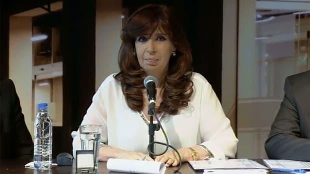 Cristina Kirchner habló sobre la campaña sucia