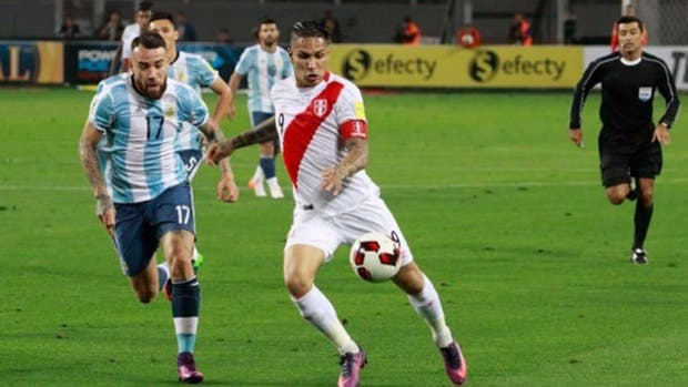 Paolo Guerrero es la gran apuesta peruana para el duelo ante Argentina