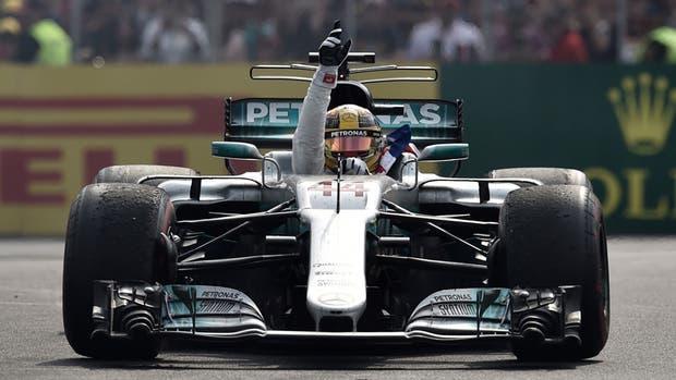 La imagen de Lewis Hamilton