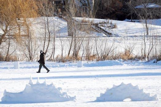 Las increíbles bajas temperaturas que azotan el noreste de los Estados Unidos no dan tregua. Foto: EFE