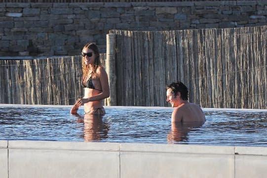 Pampita y Benjamín, en una romántica escapada a Punta del Este, en 2011. Foto: Archivo ¡Hola! Argentina